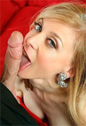 Nina Hartley loves oral sex as her favorite on-screen activity.