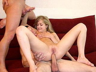 478cd49a98 Lewd blonde enjoys hard orgy