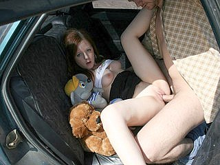 eaad07c5f3044jvq Cuddly red amateur hooked to be owned in the car