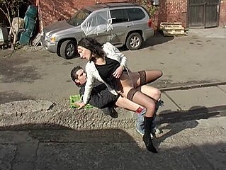 5fed160ec9008vrh Honey girl eats the cock and fucks in the street